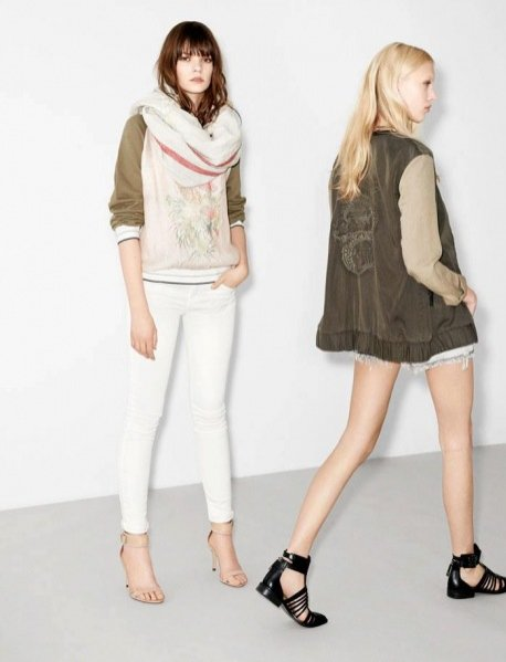 Lookbook Zara wiosna lato 2013