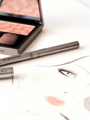BURBERRY MAKE-UP – TUTORIAL WIZAŻU JESIEŃ/ZIMA 2015