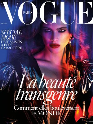 TRANSGENDEROWA MODELKA NA OKŁADCE VOGUE PARIS
