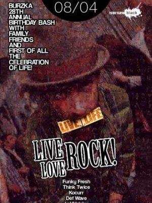 WARSAW BLACK: LIVE! LOVE! ROCK!