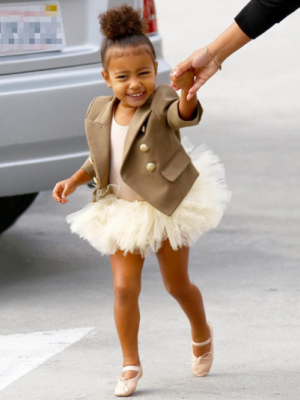 KIM KARDASHIAN CZY NORTH WEST?