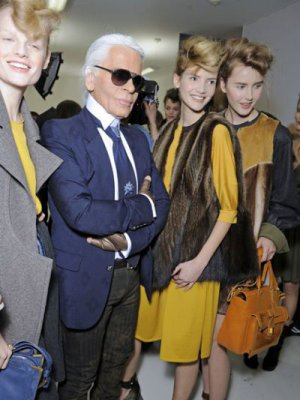 BACKSTAGE - FENDI