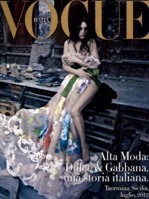 MONICA BELLUCCI W DODATKU VOGUE ITALIA