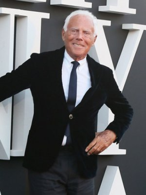 GIORGIO ARMANI WSTĄPIŁ DO ITALIAN CHAMBER OF FASHION