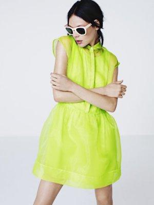 LOOKBOOK DAMSKIEJ KOLEKCJI H&M WIOSNA LATO 2012
