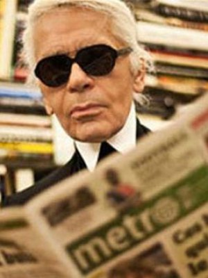 KARL LAGERFELD DLA WALL STREET JOURNAL