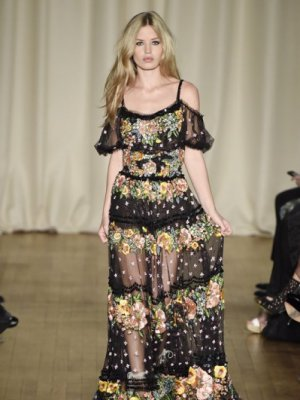LONDON FASHION WEEK - MARCHESA - KOLEKCJA WIOSNA LATO 2015