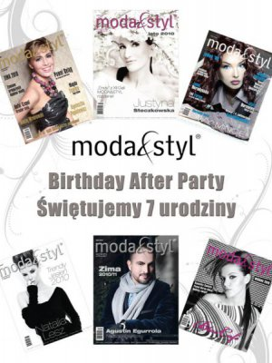 MODA & STYL BIRTHDAY AFTER PARTY