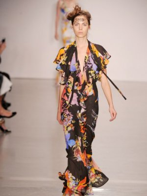 LONDON FASHION WEEK - VIVIENNE WESTWOOD RED LABEL - KOLEKCJA WIOSNA LATO 2015