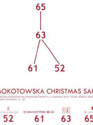 MOKOTOWSKA CHRISTMAS SALE