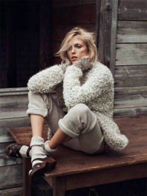 "ANJA RUBIK W EDYTORIALU ""INTO THE WILD"