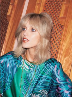 ANJA RUBIK W VOGUE JAPAN - NOWA BOHEMA