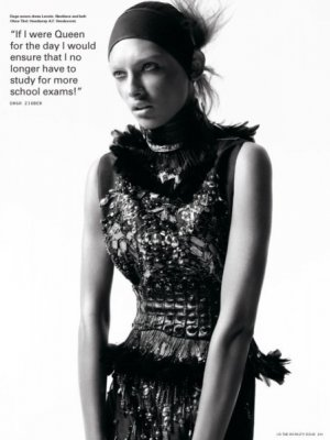 DON'T BE A DRUG JUST BE A QUEEN – DAGA ZIOBER W MAGAZYNIE i-D