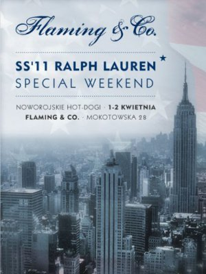 SPECIAL WEEKEND RALPH LAUREN