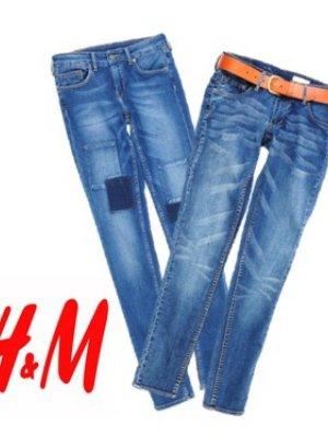 NIECH ŻYJE JEANS - DENIM W H&M