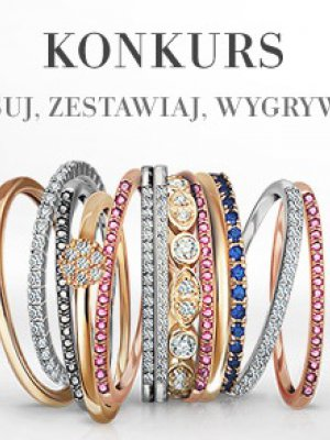 KONKURS YES – WYGRYWAJ PIERŚCIONKI YES RINGS COLLECTION