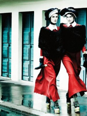 STELLA TENNANT I MARTE VAN HAASTER W VOGUE UK