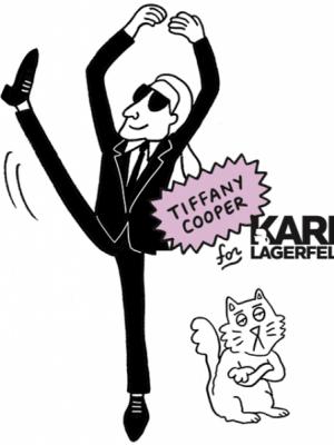 TIFFANY COOPER X KARL LAGERFELD - KAPSUŁOWA KOLEKCJA