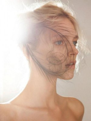 "ANJA RUBIK W ALBUMIE ""NATURAL BEAUTY"" JAMESA HOUSTONA"