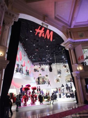 H&M POTWIERDZA – W 2013 NOWA SIEĆ SKLEPÓW