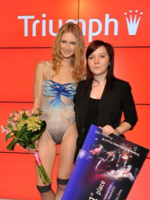 MOTYLE I SMOKI W FINALE TRIUMPH INSPIRATION AWARD 2012