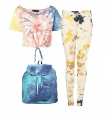 MUST HAVE WIOSNA LATO 2012 – TIE DYE W TOPSHOPIE