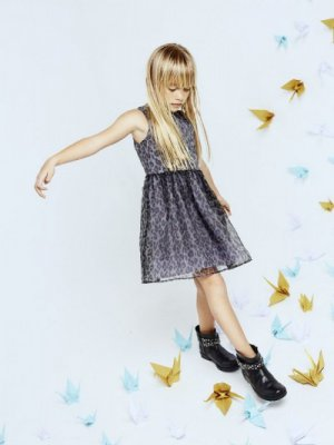 MANGO KIDS - LOOKBOOK CHRISTMAS ORIGAMI