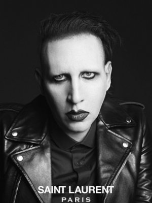 MARILYN MANSON I COURTNEY LOVE DLA SAINT LAURENT PARIS - MUSIC PROJECT
