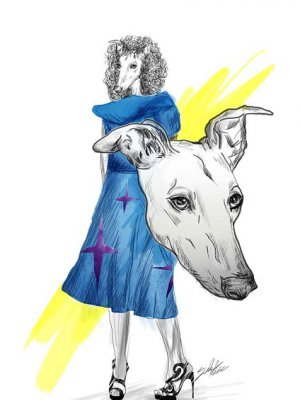 CYKL ILUSTRACJI POLISH DOGS OF FASHION