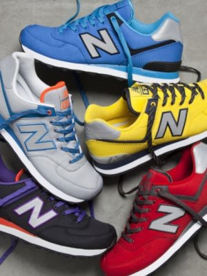 NEW BALANCE -  KOLEKCJA 574 YACHT CLUB I WINDBREAKER