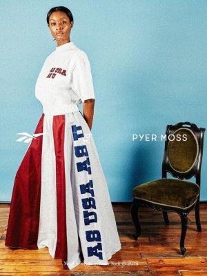 PYER MOSS ZWYCIĘZCĄ CFDA/VOGUE FASHION FUND 2018