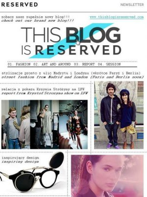 BLOG - THIS BLOG IS RESERVED