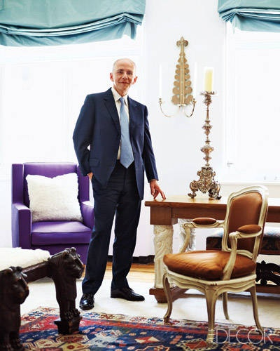 Ranking Best Dressed Vanity Fair 2015 - Robert Couturier, architekt, dekorator