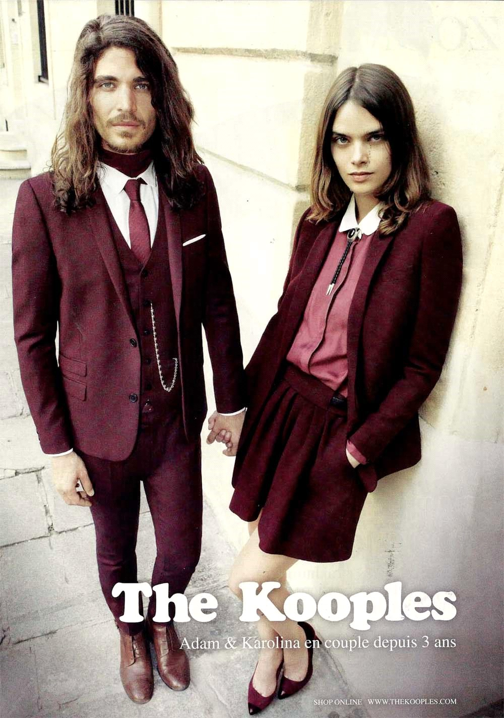 Adam & Karolina The Kooples