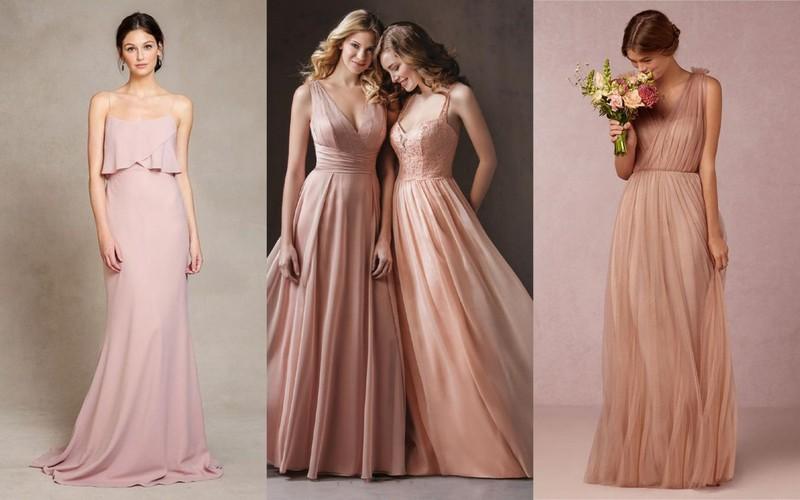 a3469bcc3e Romantyczne suknie dla druhny i świadkowej - inspiracje (kolaż Lamode.info)