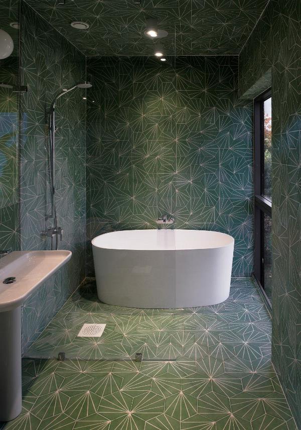 Trendy Wnętrzarskie 2018 łazienki Lamode