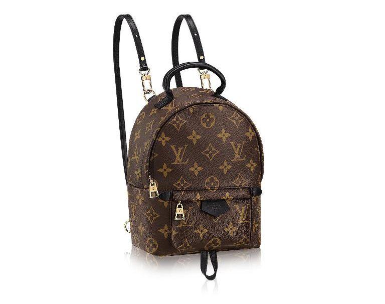 15325c2f6b1e1 Wiele modeli torebek Louis Vuitton podbija światowe ulice, ale obecnie  warto zwrócić uwagę na plecak w wersji mini z monogramem. Wdzięczny brązowy  projekt z ...