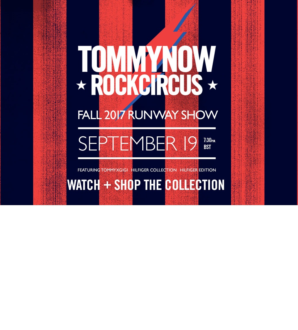 TOMMY HILFIGER JESIEŃ ZIMA 2017 - LIVESTREAMING