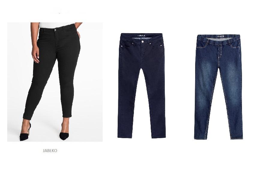 29a23da2294 Należy stawiać na spodnie o średnim dopasowaniu, tzn. ani zbyt szerokie,  ani zbyt wąskie. Najlepsze będą modele o prostych nogawkach (subtelnie  zwężane ku ...