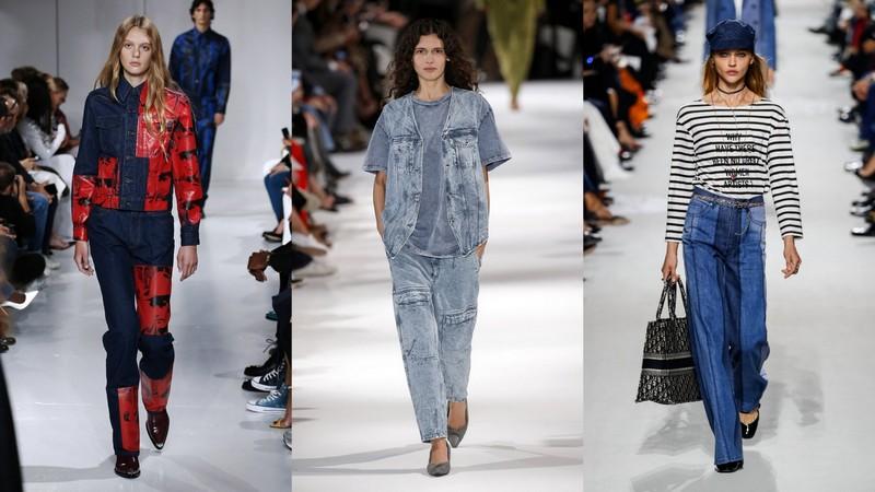 054e51116061 spodnie Dżinsy z kolekcji wiosna lato 2018 Calvin Klein