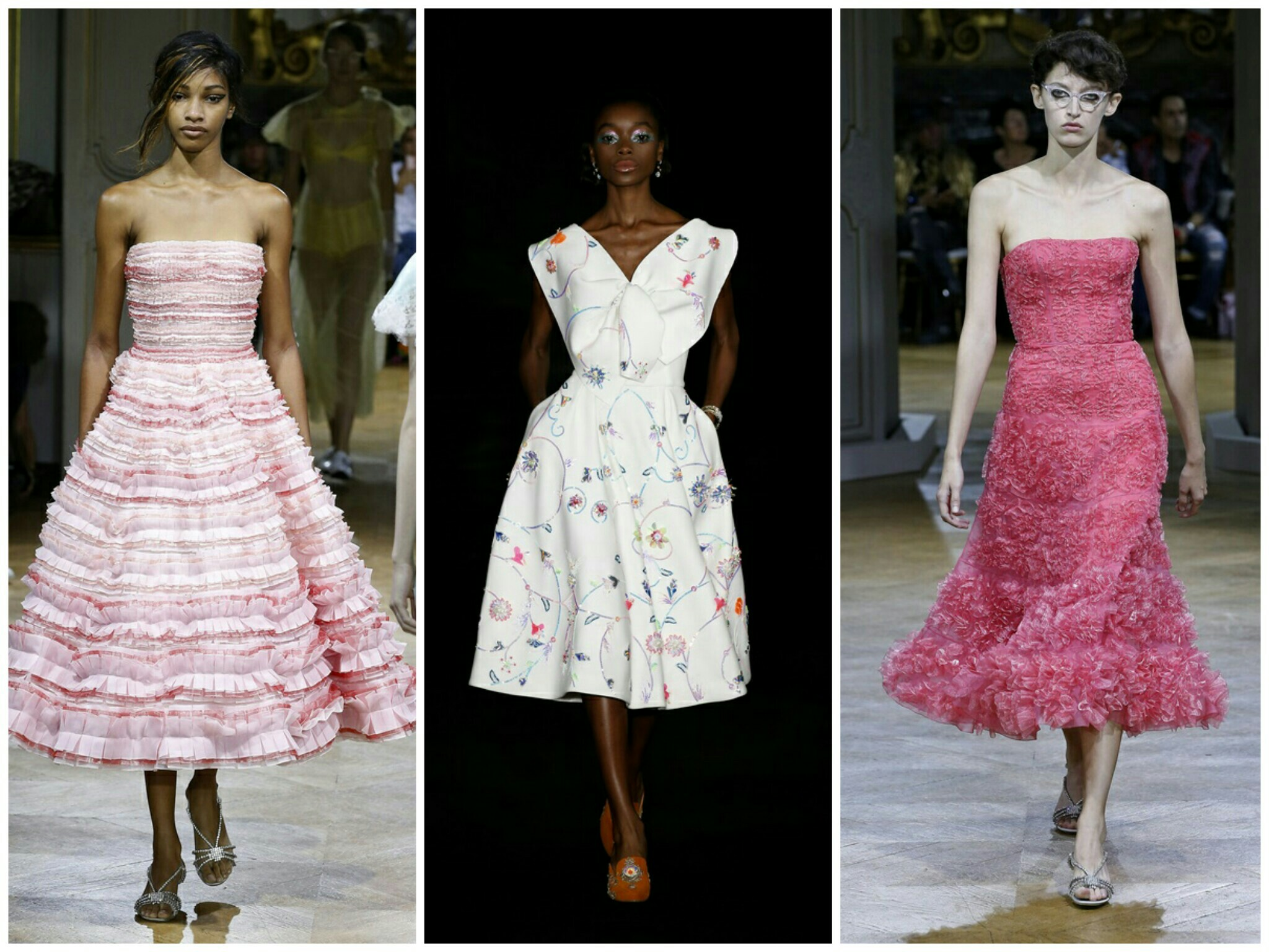 6c39d444 Trendy wiosna lato 2018 - sukienki: kroje, fasony, wzory   lamode