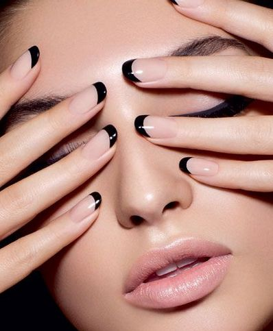 French Manicure Historia Trendy Okazji Instruktaż Lamode