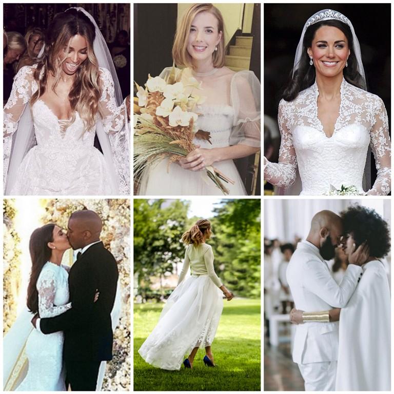Fryzury ślubne 2017 Upięcia Długie Krótkie I Z Grzywką