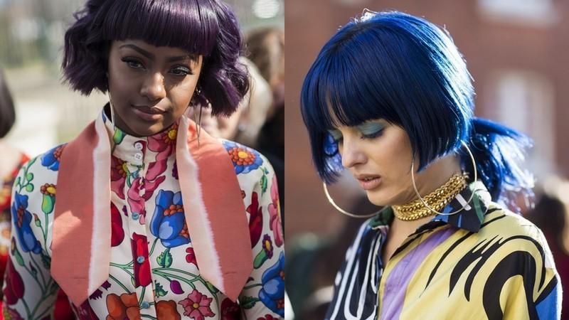 Trendy Jesień Zima 201819 Krótkie Fryzury Street Fashion
