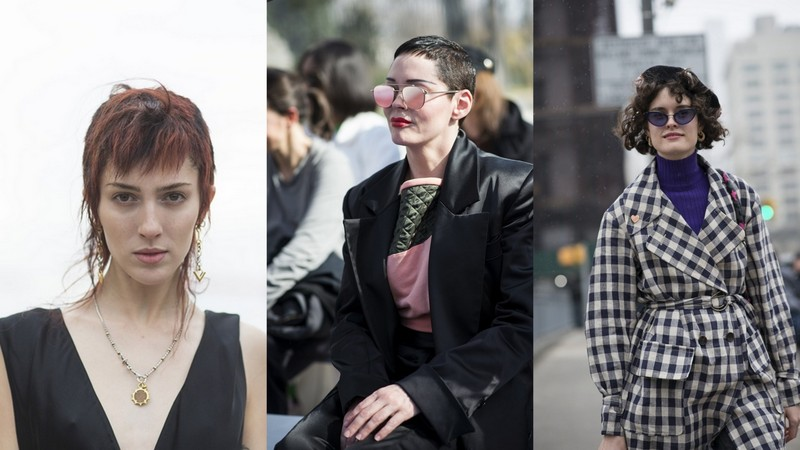 Trendy Jesień Zima 201819 Krótkie Fryzury Street Fashion Lamode