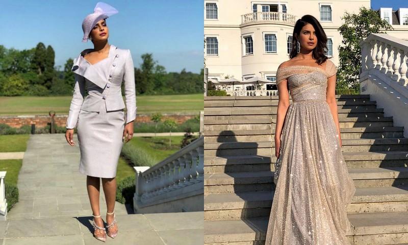 0cfa699224 Priyanka Chopra  garsonka na ślub i sukienka na wesele Meghan Markle z  księciem Harrym