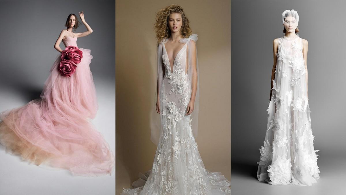 Suknie ślubne Trendy Wiosna Lato 2019 Dla Panien Młodych Lamode
