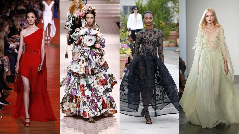 100 Sukni Z Pokazów Wiosna Lato 2018 Idealnych Na Czerwony Dywan