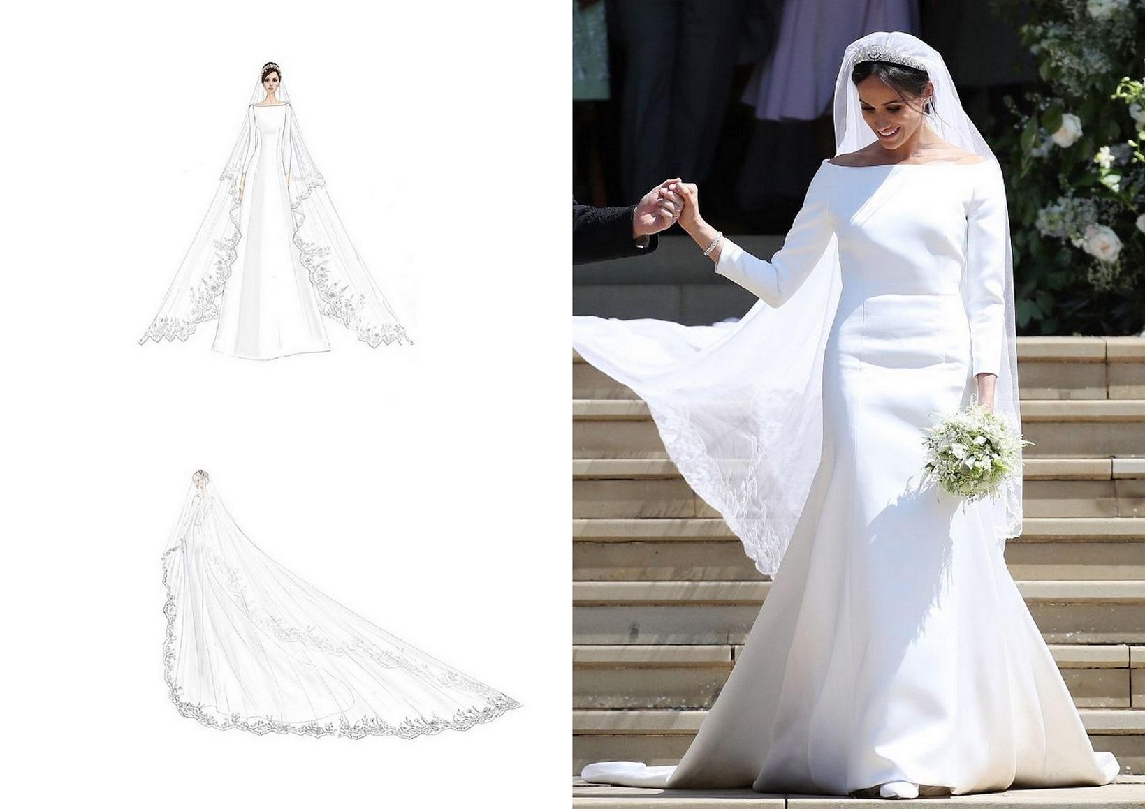 Minimalistyczne Ponadczasowe Suknie ślubne W Stylu Meghan Markle