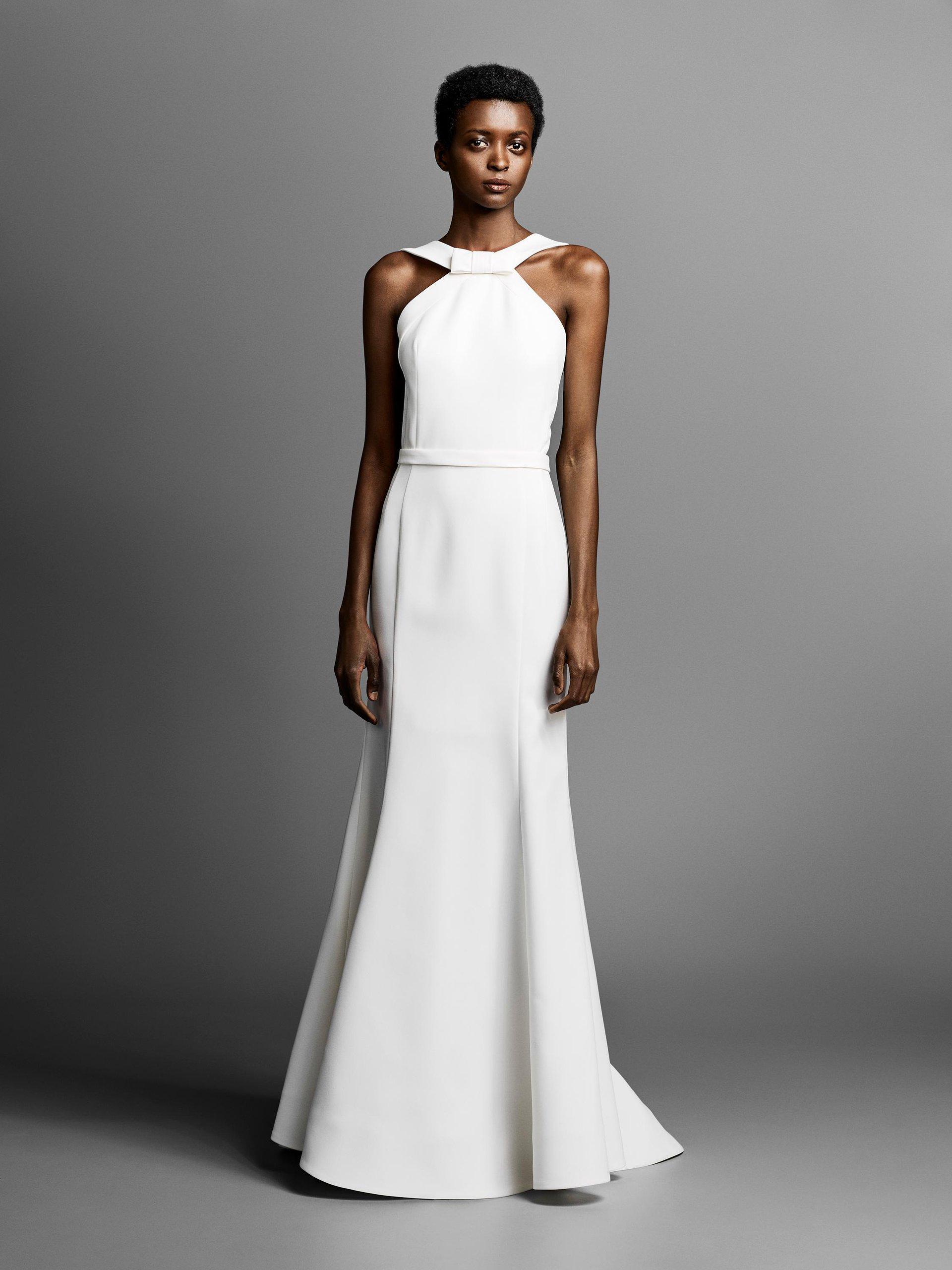 0ecb09370d Minimalistyczne suknie ślubne w stylu Meghan Markle